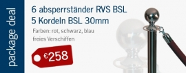 Package deal BasicLine € 258,00 - mehr info