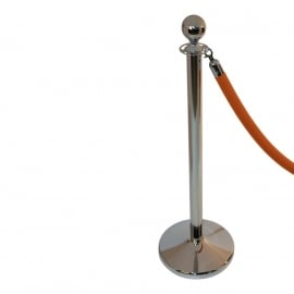 Absperrkordel BSL Velours Orange 40 mm. - mehr info