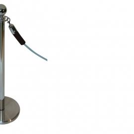 Absperrkordeln ProfLine Braun 40 mm. - mehr info