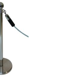 Absperrkordeln ProfLine Schwarz 40 mm. - mehr info