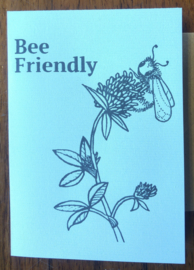 Greeting Card: BEE FRIENDLY