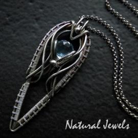 Necklace Blue Topaz