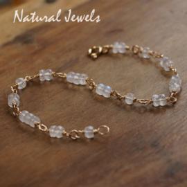 Gouden Maansteen Armband