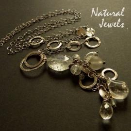 Long Necklace Rockcrystal