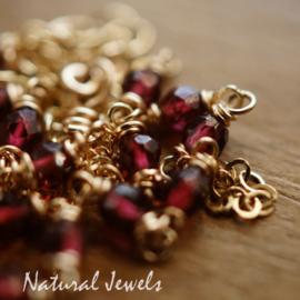 Rode Granaat halskettinkje