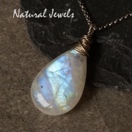 Big big Moonstone pendant