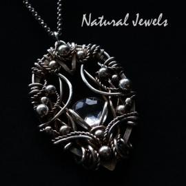 Necklace Adorned Crystal