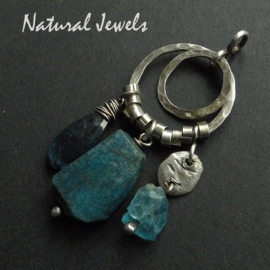 Hanger Natural Chrysocolla