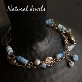 Armband blauwe Opaal
