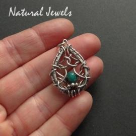 Small Pendant Emerald