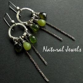 Green Briolettes