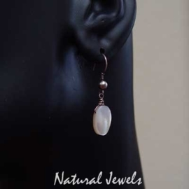 Mother of Pearl ovals