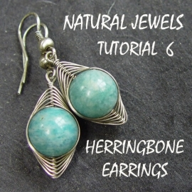 Tutorial 6 - Herringbone Earrings
