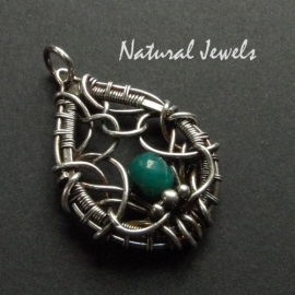Small Pendant Emerald
