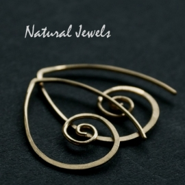14K Goldfilled Spirals inbetween