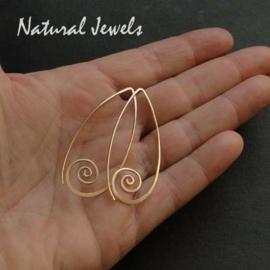 Tender Golden Spirals