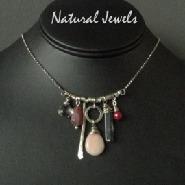Necklace Pink Opal and more
