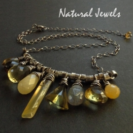 Necklace Natural Yellow