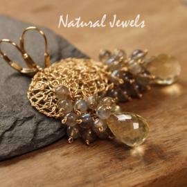 14K Goldfilled oorbellen Modest Abundance