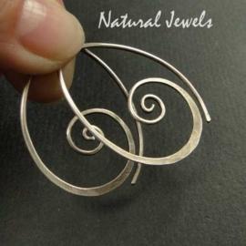 Small Silver Spirals