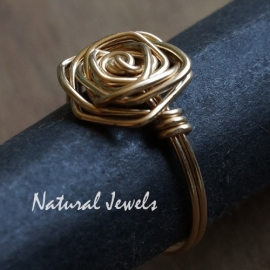 Ring Golden Rose