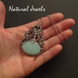 Necklace Adorned Amazonite