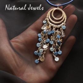 Hanger Blauwe Opaal