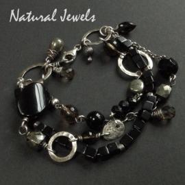 Bracelet Earthy Onyx
