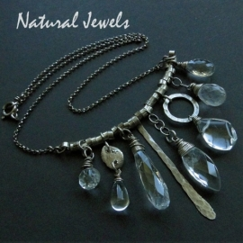 Necklace Rockcrystal