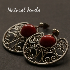 Earrings Red Passion