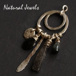 Silver pendant Dark and Robust