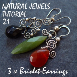 Tutorial 21 - 3 pairs of earrings