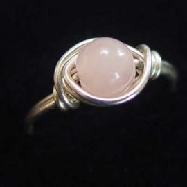 Ring Rosequartz