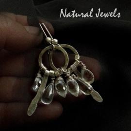 Earrings Robust Rockcrystal