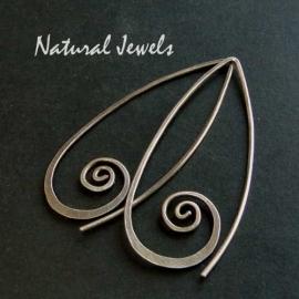 Tender Silver Spirals
