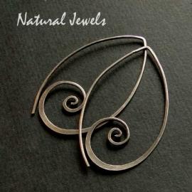 Big Silver Spirals