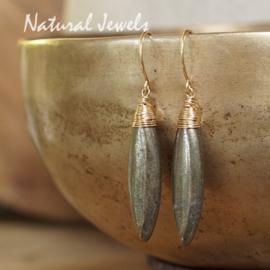 Pyriet oorbellen goud