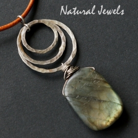 Hanger Robust Big Labradorite