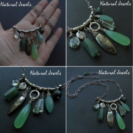 Necklace Apple Green