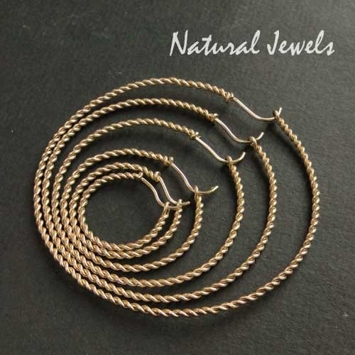 Earrings of Rope of Gold
