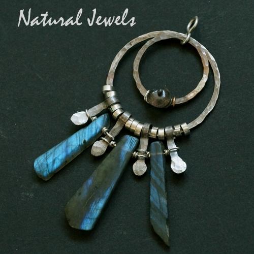 Ancient Labradorite pendant