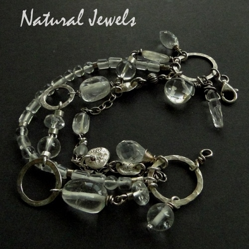 Bracelet Robust Rockcrystal