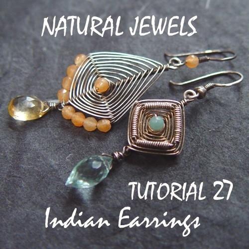 Tutorial 27 - Indian Earrings