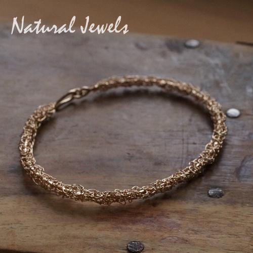 Organic Bracelet of Gold