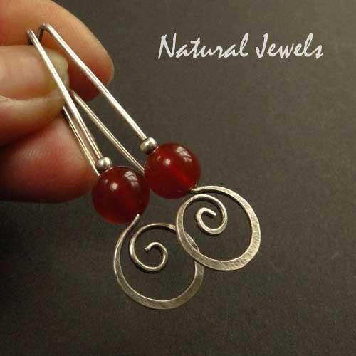 Carnelian Spirals