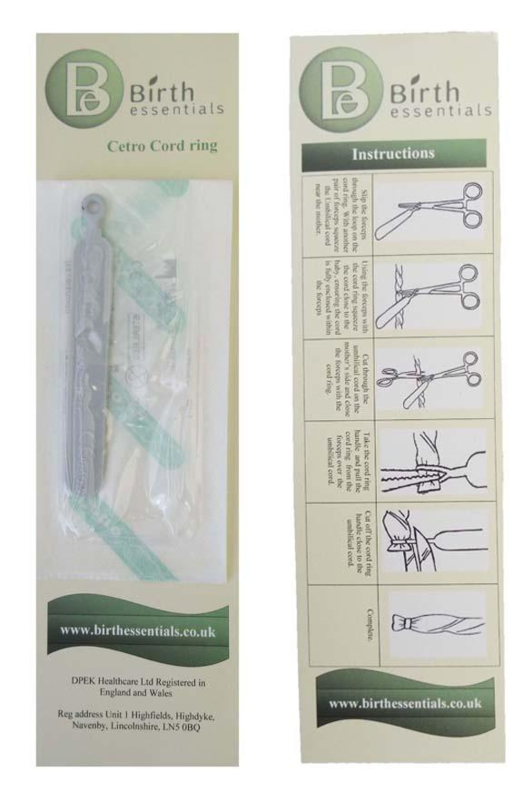 Umbilical Cord Ring / Navelstreng ring
