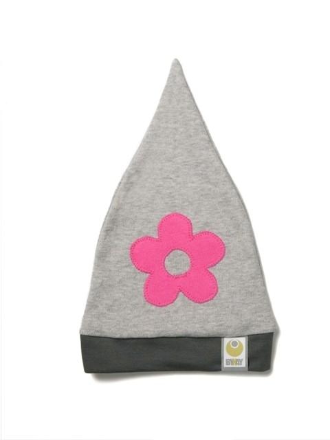 Babymutsje Fuchsia bloem