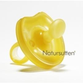 Natursutten Speen van natuurrubber dental met  vlinderschild 0-6 en 12+