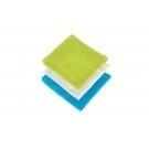 Jollein Hydrofiele monddoekjes multi Turquoise/Lime/Wit 3 stuks