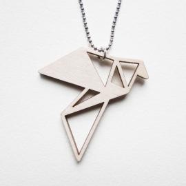 Origami duif ketting blocks